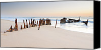 Absence Canvas Prints - Dicky Beach Canvas Print by Visual Clarity Photography