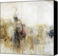 Contemporary Mixed Media Canvas Prints - Die Trying Canvas Print by Michel  Keck