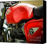 Bsa Canvas Prints - Dimples Canvas Print by Rene Triay Photography