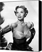 Choker Canvas Prints - Dinah Shore, Ca. Early 1950s Canvas Print by Everett