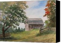 Rural Scenes Canvas Prints - Disappearing Heritage Canvas Print by Debbie Homewood
