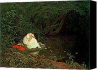 1861 Canvas Prints - Disappointed Love Canvas Print by Francis Danby
