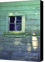 Barn Windows Canvas Prints - Ditched Canvas Print by Gwyn Newcombe