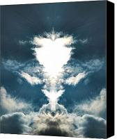 Angels Breath Canvas Prints - Divine  Canvas Print by Thomas  MacPherson Jr