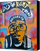 Conscious Painting Canvas Prints - Do The Right Thing Canvas Print by Tony B Conscious