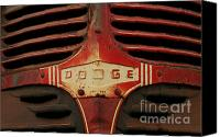Steve Augustin Canvas Prints - Dodge 41 Grill Canvas Print by Steve Augustin