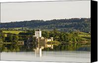 County Donegal Photo Canvas Prints - Doe Castle, County Donegal, Ireland Canvas Print by Peter McCabe