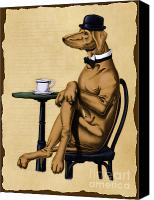 Aristocrat Canvas Prints - Dog Day Afternoon Canvas Print by Rob Snow