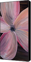 Silver Moonlight Canvas Prints - Dogwood Bloom Canvas Print by Mark Moore