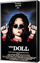 1987 Canvas Prints - Dolls, 1987 Canvas Print by Everett