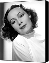 Del Rio Photo Canvas Prints - Dolores Del Rio, Fox Film Corp, 1930s Canvas Print by Everett