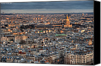 St Louis Canvas Prints - Dome Des Invalides Canvas Print by Romain Villa Photographe