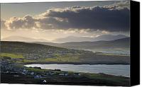 Achill Island Canvas Prints - Dooagh, Achill Island, Co Mayo, Ireland Canvas Print by Gareth McCormack