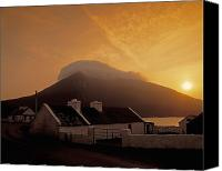 Achill Island Canvas Prints - Doogort And Slievemore, Achill Island Canvas Print by The Irish Image Collection