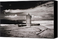 Doonagore Tower Canvas Prints - Doonagore Tower Canvas Print by Simon Marsden