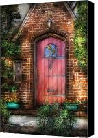 Door Canvas Prints - Door - Sweet as Gingerbread  Canvas Print by Mike Savad