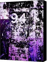 Purple Canvas Prints - Door 94 Perception Canvas Print by Bob Orsillo