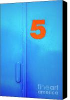 Door Canvas Prints - Door Five Canvas Print by Carlos Caetano
