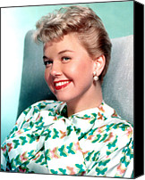 Publicity Shot Canvas Prints - Doris Day, Warner Brothers, 1950s Canvas Print by Everett