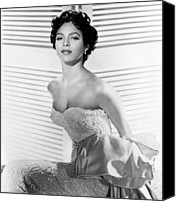 Publicity Shot Canvas Prints - Dorothy Dandridge, Ca. 1950s Canvas Print by Everett