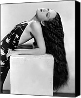 Publicity Shot Canvas Prints - Dorothy Lamour, Paramount Pictures, 1936 Canvas Print by Everett