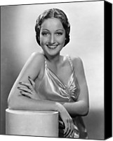 Publicity Shot Canvas Prints - Dorothy Lamour, Paramount Pictures, 1937 Canvas Print by Everett