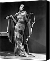 Publicity Shot Canvas Prints - Dorothy Lamour, Paramount Pictures Canvas Print by Everett