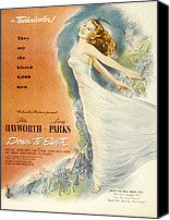 Fod Canvas Prints - Down To Earth, Rita Hayworth, 1947 Canvas Print by Everett