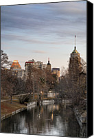 Gulf Coast States Canvas Prints - Downtown San Antonio, Texas Canvas Print by Carol Wood