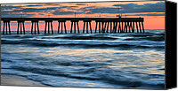 Topsail Island Canvas Prints - Drama Class Canvas Print by JC Findley