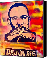 Sit-ins Canvas Prints - Dream Big Canvas Print by Tony B Conscious