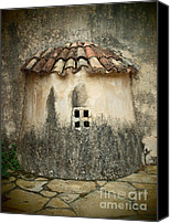 Thomas Pyrography Canvas Prints - Dream church Canvas Print by Thomas Maes
