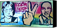 Conservative Painting Canvas Prints - Dreamers Canvas Print by Tony B Conscious