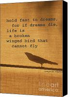 Harlem Canvas Prints - Dreams on a Wing Canvas Print by adSpice Studios