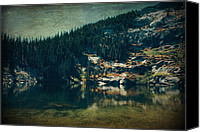 Angora Lakes Canvas Prints - Dreams That Die Canvas Print by Laurie Search
