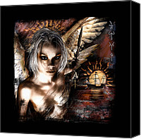 Goth Canvas Prints - DreamSeeker Canvas Print by Mandem