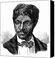 Black Tie Canvas Prints - Dred Scott (1795?-1858) Canvas Print by Granger