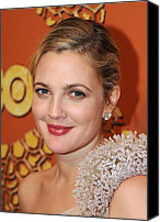 Golden Globe Canvas Prints - Drew Barrymore At The After-party Canvas Print by Everett