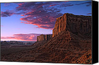 Grandkin Studios Photo Canvas Prints - Drifting Desert Plains Canvas Print by Jeffrey Campbell