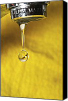 Drips Canvas Prints - Dripping Tap Canvas Print by Photostock-israel