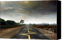 Cloudscape Canvas Prints - Drive Safely Canvas Print by Carlos Caetano