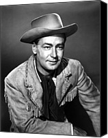 1950s Movies Canvas Prints - Drum Beat, Alan Ladd, 1954 Canvas Print by Everett