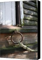 Metamora Canvas Prints - Dry Docked 2 Canvas Print by Mike Lytle