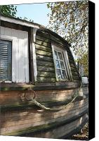 Metamora Canvas Prints - Dry Docked Canvas Print by Mike Lytle