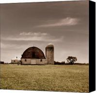 Barn Canvas Prints - Dry Earth Crumbles Between My Fingers and I Look to the Sky for Rain Canvas Print by Dana DiPasquale