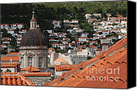 Dubrovnik Canvas Prints - Dubrovnik Canvas Print by Bob Christopher