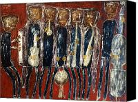 Jean Canvas Prints - Dubuffet: Jazz Band, 1944 Canvas Print by Granger