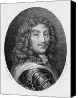 Hairstyle Canvas Prints - Duc La Rochefoucauld Canvas Print by Granger