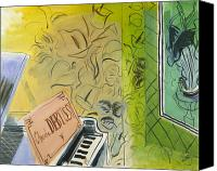Faa Canvas Prints - Dufy: Claude Debussy, 1952 Canvas Print by Granger