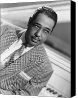 Bandleader Canvas Prints - Duke Ellington (1899-1974) Canvas Print by Granger